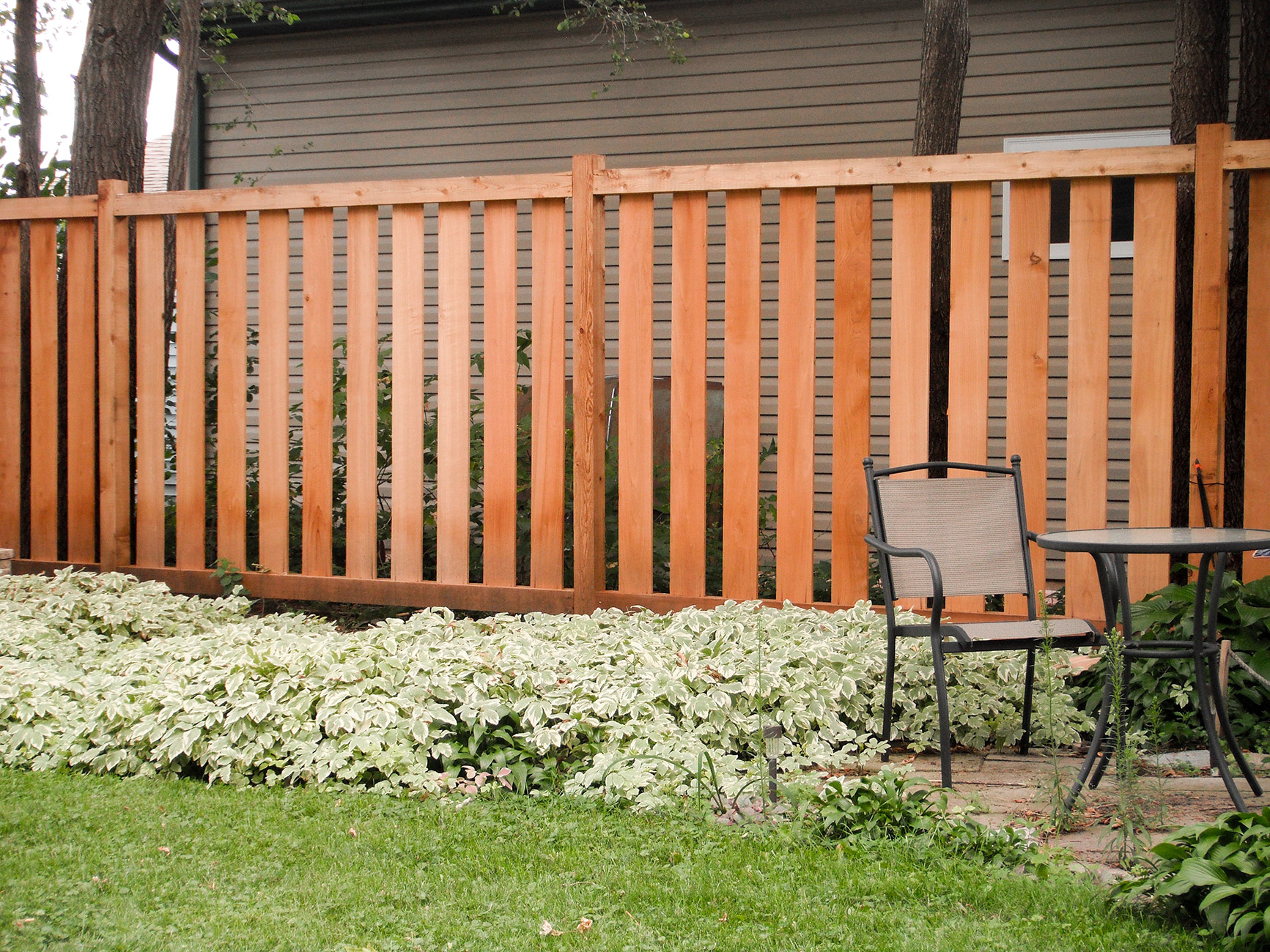 Living Privacy Fence Semi Private Wood Fence Fences Gates Screens Railings